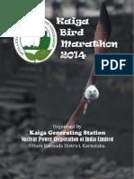 Brochure-Kaiga Bird Marathon-2014