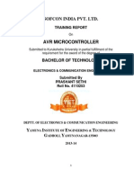 Avr Training Report