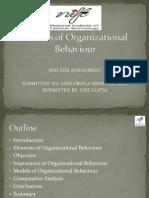 Models of Organizational Behaviourlogo