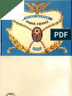 1945 Seine Section, Paris France, Brig Gen Peas B. Rogers