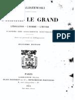 K.Waliszenwski - Pierre Le Grand