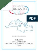 Dossier Candidatura Taranto Capitale della Cultura