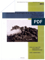 Informe Prospeccion Arqueologica Isla Rey Jorge - 1aEtapa-2012