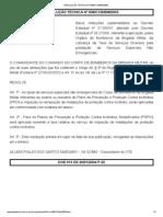 RESOLUÇÃO TÉCNICA Nº 008_CCB_BM_2003