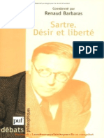 Sartre Desir et liberte