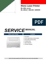 SAMSUNG ML-295x Series Service manual