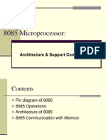 8085 Architecture Memory Interfacing