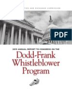 Annual Report of the Whistleblower Office