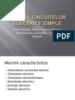Studiul circuitelor electrice2012