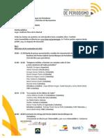 Programa General de Actividades Premio GGM 2013 14 Nov