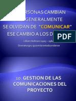 Gestion Comunicaciones