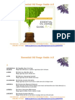 picture relating to Printable Essential Oil Guide identify dōTERRA Vital Oil Intake Direct A-Z Vital Oil