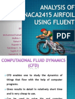 Analysis of Naca2415 Airfoil Using Fluent