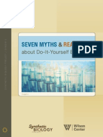 7 Myths and Realities of Do-It-Yourself Biology