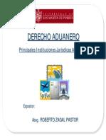 Derecho Aduanero - Principales Instituciones Juridicas Aduaneras