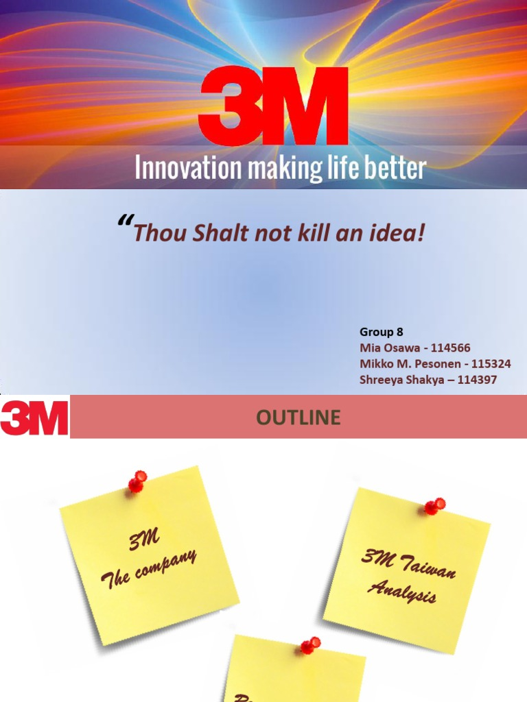 "3m case study slideshare From time to time, i (cal henderson) talk at conferences and such about web things here's a list of talks i've given future talks can be found on my homepage "" "" this speaker is full of himself and his insignificant ego he is spouting his worthless opinion without offering any sort of technical insight also he's pretty much a."