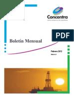 Boletín Mensual Público - Febrero 2012-concentra