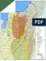 Mapa Pueblos Culturales Sierra Medio Pliego