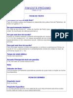 O FIM ESTÁ PRÓXIMO I Pedro 4.7-10.doc