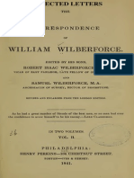 Selected Letters from the Correspondence the William Wilberforce.  Edited by his Sons (Philadelphia, 1841)--EXCERPTS
