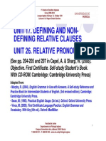 Units 17_26_relative Clauses and Relative Pronouns