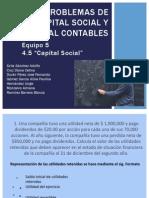 Problemas de Capital Social y Capital Contables-Equipo 5