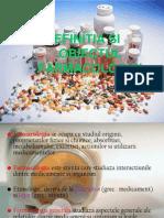 Definitia Si Obiectul Farmacologiei