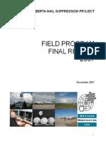 Wmi Alhap Final Report 2007