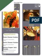 lecture project-appendix a menu