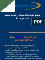 charla presentacion IngeOptima