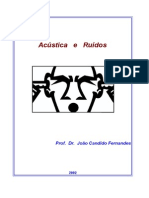 ACÚSTICA E RUÍDOS - APOSTILA-1º PARTE  - João Candido Fernandes