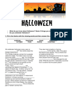 Halloween Worksheet for young learners