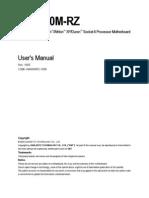 Motherboard Manual 7vm400m-Rz e
