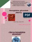 Hemoglobina Glicosilada TRABAJO FINAL Valeria