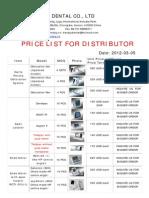Denjoy-price List(2012) Dy0305