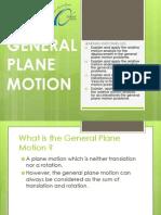 General Plane Motion