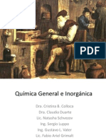 Química General e Inorgánica CLASE 1.1