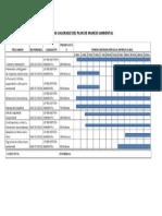 Cronograma Valorado Del Plan de Manejo Ambiental