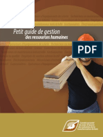 Petit Guide Gestion Ressources Humaines