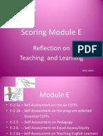 scoring module e 2013-14