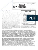 Community Bulletin - November 2013