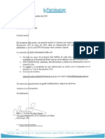 RESOLUCION 1552 INFORMATIVO FAMISANAR
