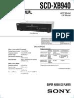 Sony Scd Xb940 Sm