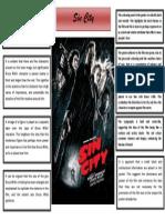 Sin City Poster Analysis