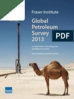Fraser Institute Global Petroleum Survey 2013