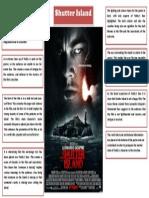Shutter Island Poster Analysis