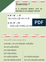 Combinacao Linear
