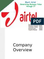 Airtel - adding business value through IT