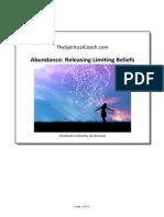 Abundance Releasing Limiting Beliefs