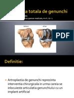 Artroplastia Totala de Genunchi